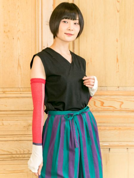 Mesh Arm Cover with Bag-Ametsuchi