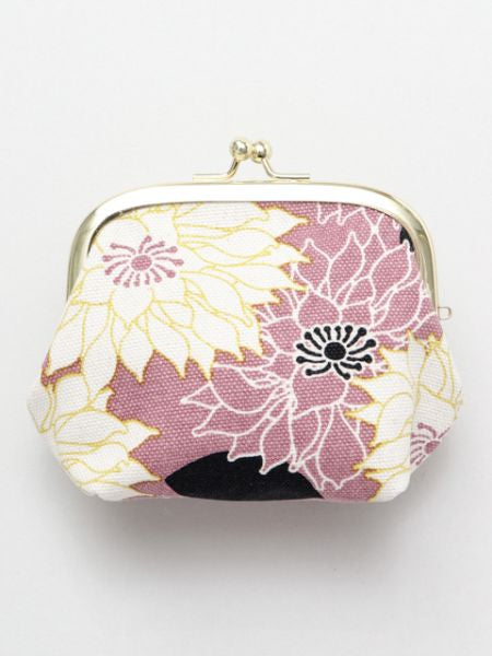Floral Pattern GAMAGUCHI Pouch