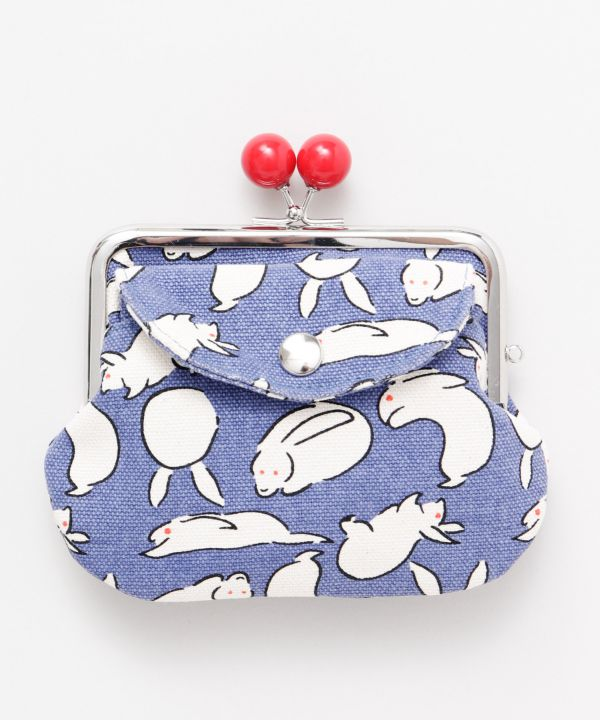 Charming Animal Twin GAMAGUCHI Purse-Bags & Purses-Ametsuchi