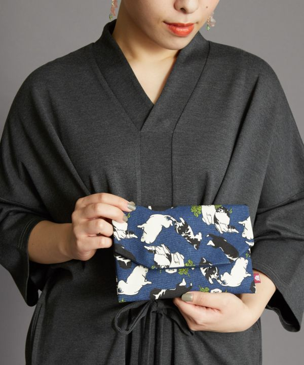 Charming Animal Flat Pouch-Bags & Purses-Ametsuchi