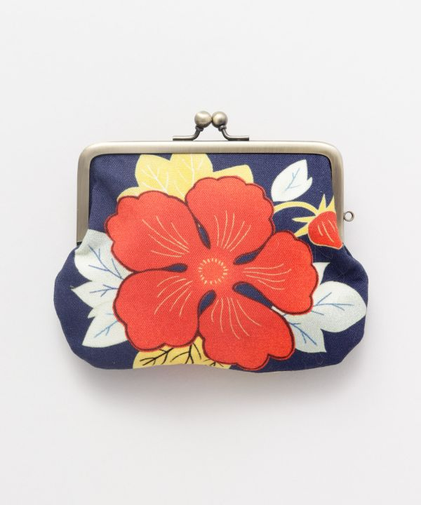 Dompet GAMAGUCHI Floral Twin