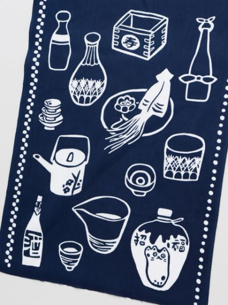 TENUGUI Towel --Sake Set