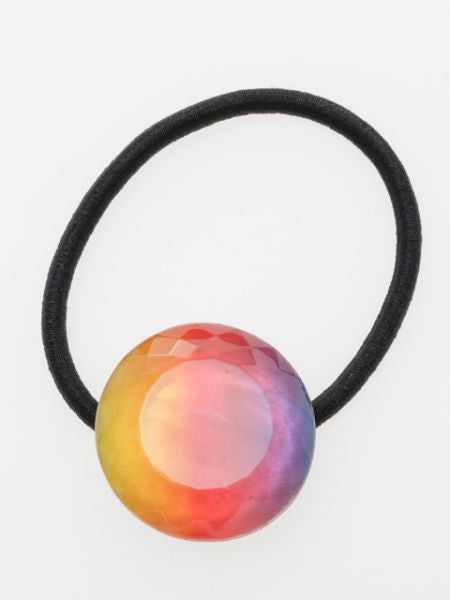 Multi Gradient Color Charm Hair Band