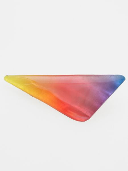 Multi-Gradient Color Triangle Hair Clip-Accesorios para el cabello-Ametsuchi