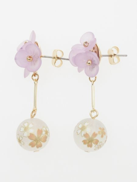 SAKURA Ball Earrings
