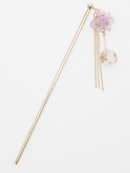 SAKURA Ball KANZASHI Hair Stick