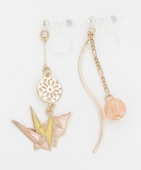 KISSHO Auspicious Clip Earrings