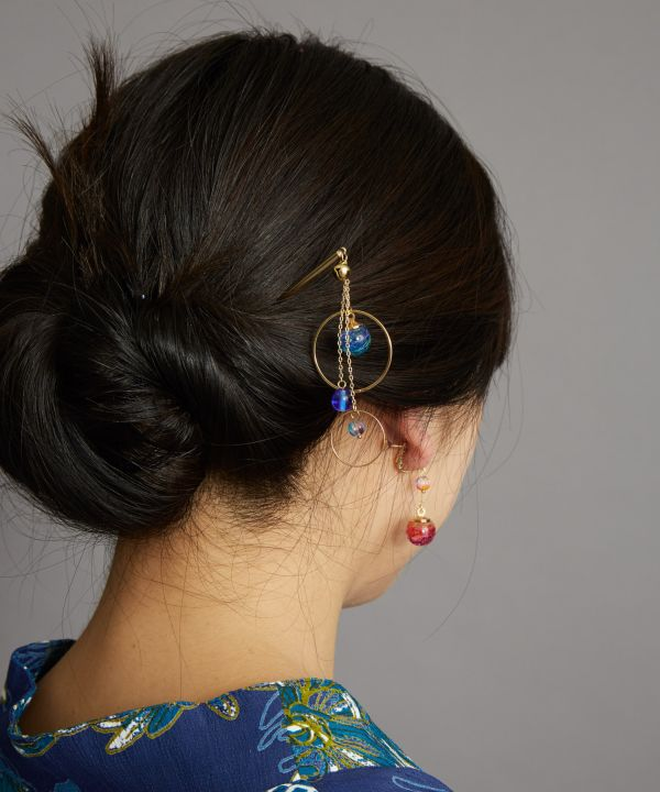 PON-PIN KANZASHI Hair Stick