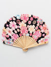Floral Foldable SENSU Fan with Pouch-Ametsuchi