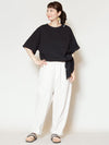 Oversized Cotton Top-T-shirts & Cutsew-Ametsuchi