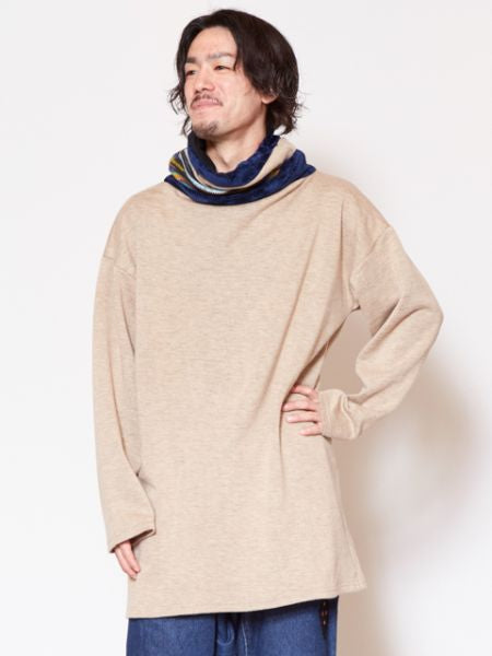 Off Turtleneck Top-TopsAmetsuchi