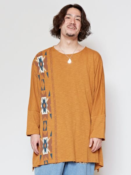 CHIMAYO Pattern Oversized T Shirt-Ametsuchi