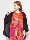 Back Embroidery Oversized Cardigan-Ametsuchi