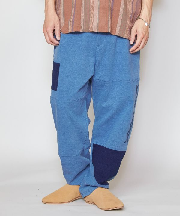 Tapered Denim Pants-Ametsuchi