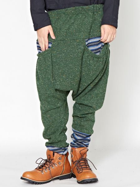덧붙여 대는 세공 Men's Harem Pants-Pants & Shorts-Ametsuchi