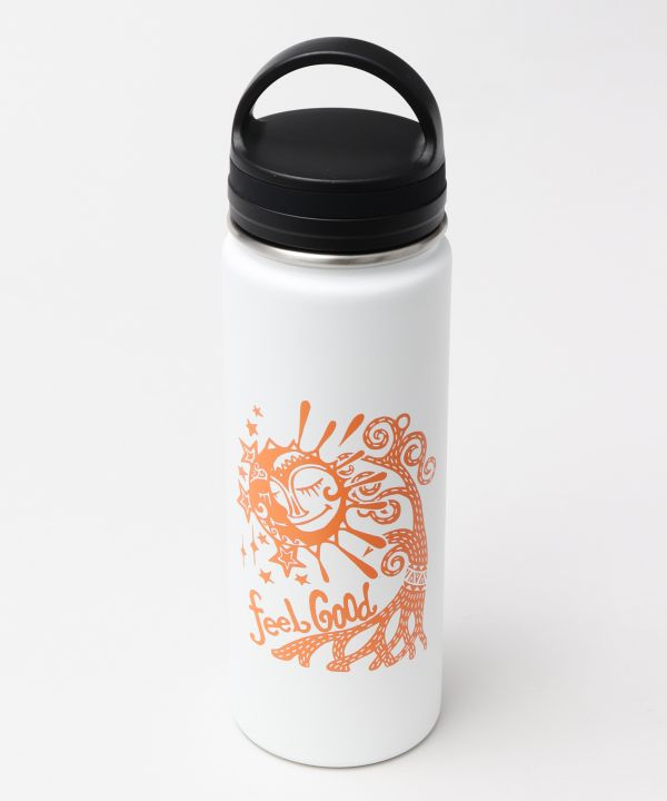 Sun Moon Stainless Steel Water Bottle-Kitchen Goods-AMINA- Ametsuchi