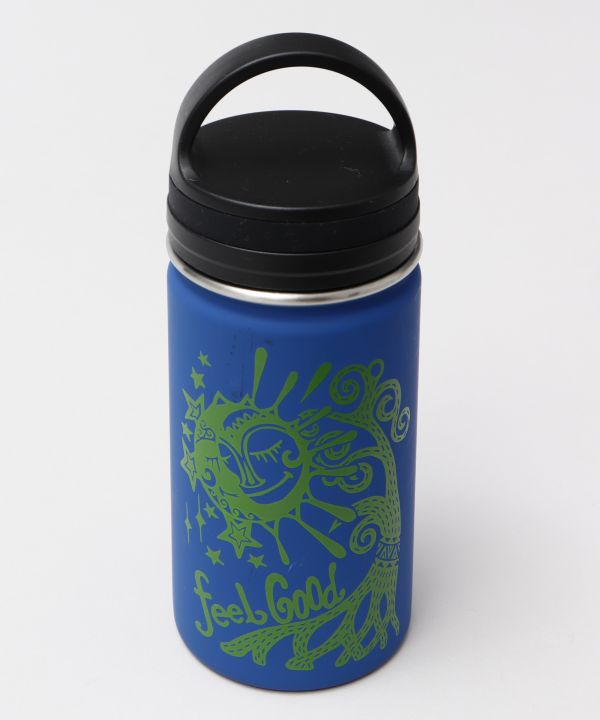 Sun Moon Stainless Steel Water Bottle S-Kitchen Goods-AMINA- Ametsuchi