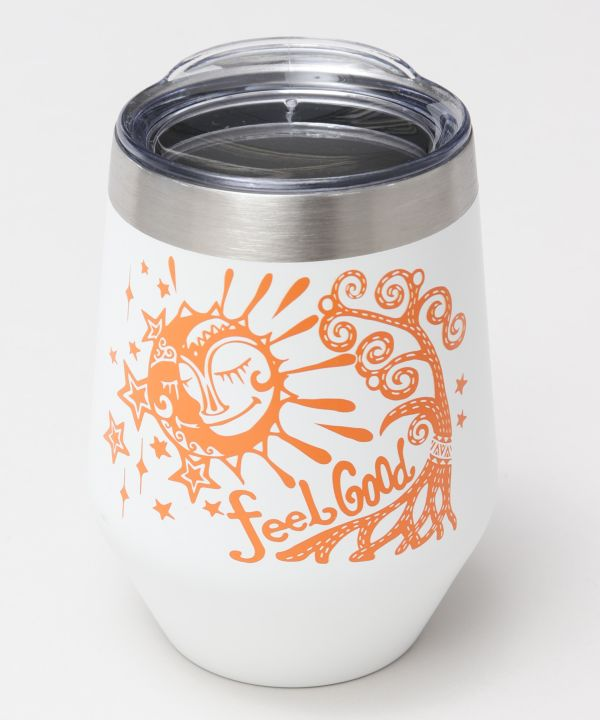 Sun Moon Stainless Steel Tumbler-Kitchen Goods-AMINA- Ametsuchi