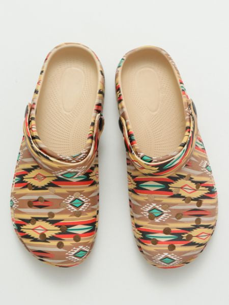 Navajo Pattern Clogs