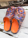 Egyptian Pattern Clogs-Ametsuchi