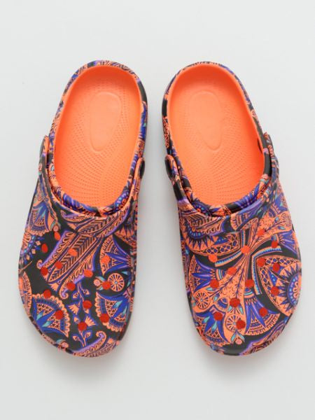 Egyptian Pattern Clogs