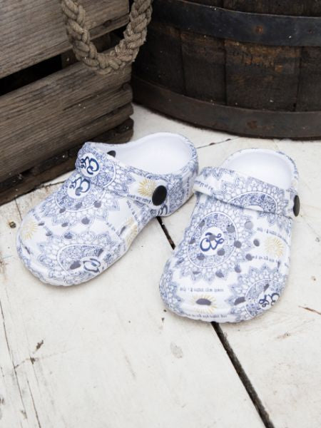 OM Muster EVA Kids Clogs
