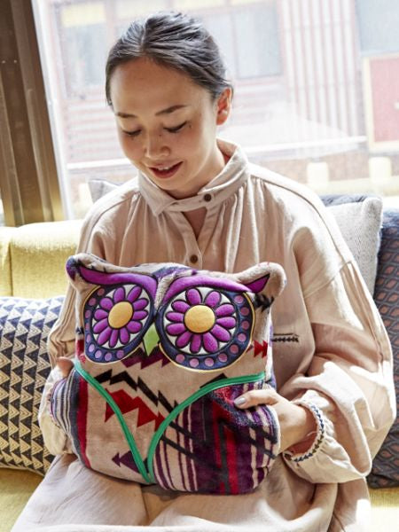 Nomad Owl Cushion