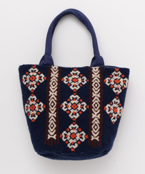 Chenille Embroidery Small Hand Bag