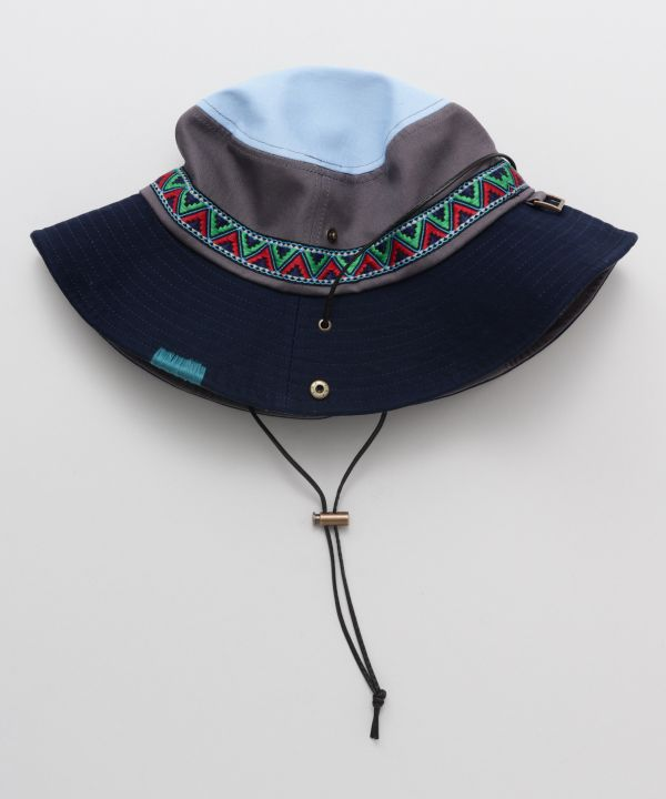 Unisex Adventure Hat-Caps & Hats-AMINA- Ametsuchi