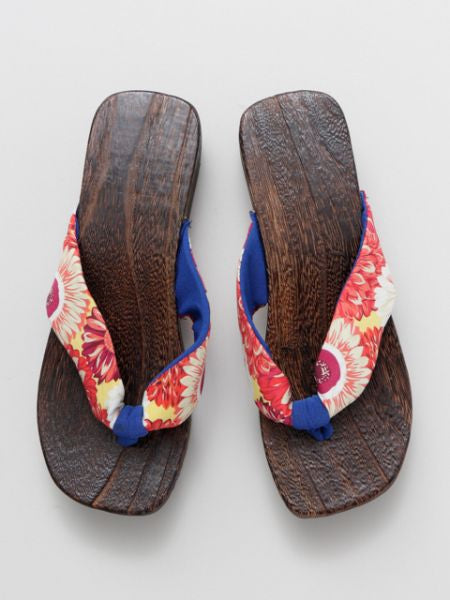 Colorful Thong GETA Sandals-Ametsuchi