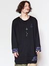 Patchwork Oversized Top-Ametsuchi