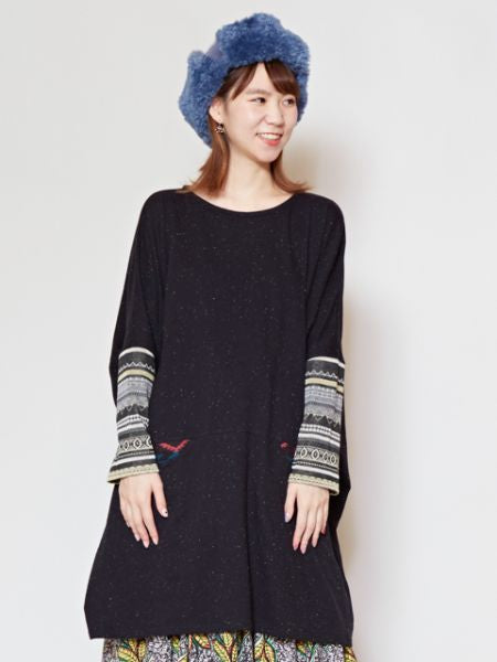 Nep Yarn Traveler Tunic Top