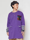 Nep Yarn Traveler Men 's Top-Ametsuchi