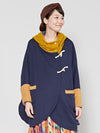 Patchwork Poncho Jacket