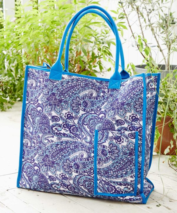 Paisley Large Tote Bag