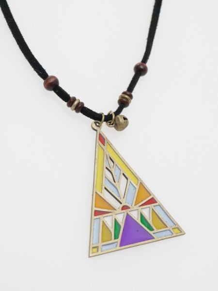 Stained Glass Style Necklace