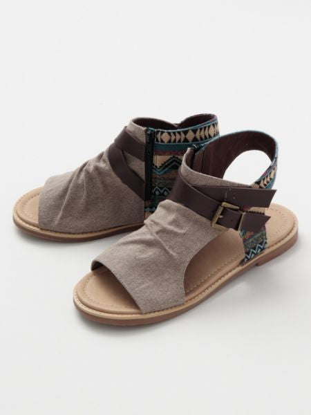 Men's Bohemian Boot Sandals-Ametsuchi