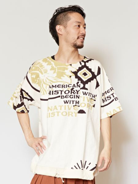 World Ethnic Motif Herren Top-Ametsuchi