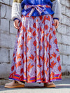 African KITENGE Pattern Long Skirt