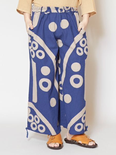 Bold Geometrical Pattern Harem Pants