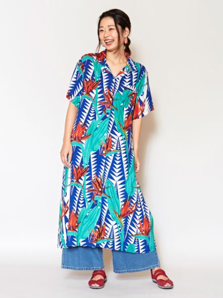 Robe chemise Bird of Paradise-Ametsuchi