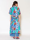 Bird of Paradise Shirt Dress-Ametsuchi
