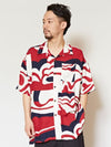 GEOM Pattern Men's Shirt