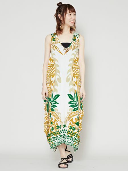 Tribal Tropical Pattern Dress