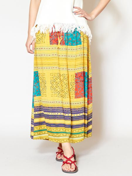 HMONG Inspired Pattern Skirt