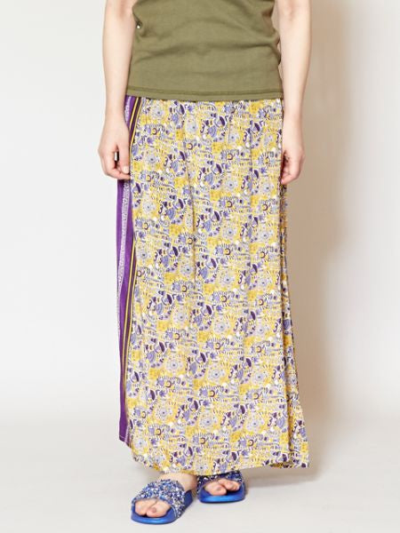 Ethnic Pattern Harem Skirt