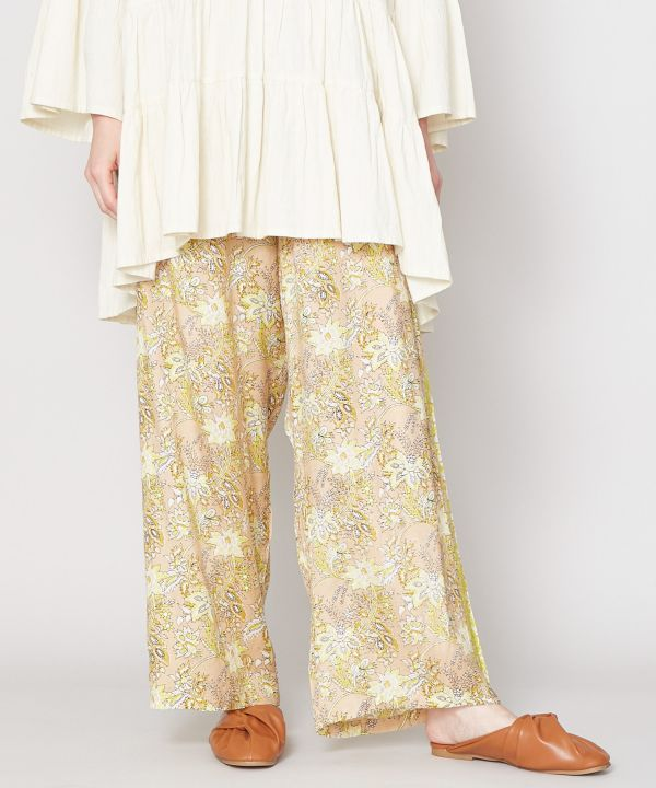 Shantung Relaxed Pants