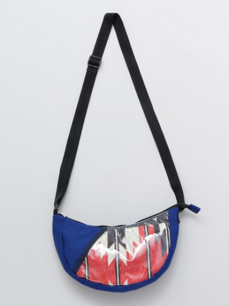 Ethnic Pattern Crescent Shoulder Bag-Bags & Purses-Ametsuchi