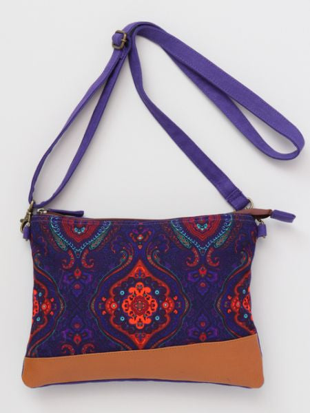 Exotic Pattern Print Shoulder Bag