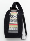Geometric Pattern Patchwork One Shoulder Bag-Bags & Purses-Ametsuchi